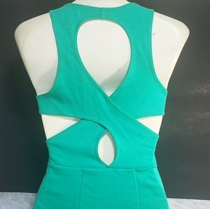 HOST PICK --- Silence + Noise Bodycon Green Dress